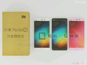 Xiaomi Mi Note 2 nowe zdjęcia i specyfikacja.